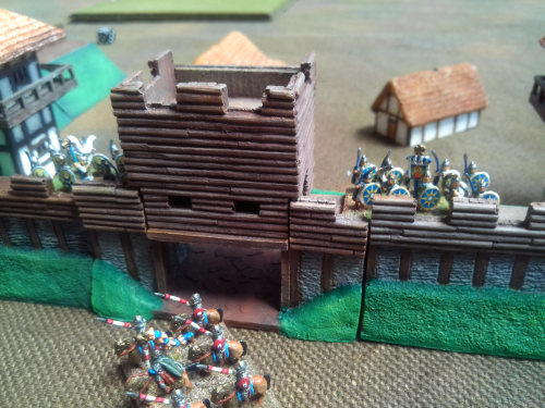 10mm Sub Roman Fort Gatehouse section
