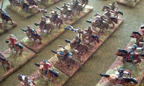 12x 10mm Sarmatian Light Cavalry