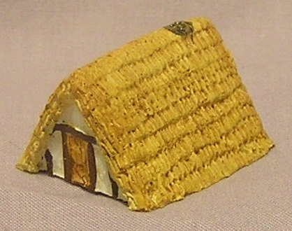 6mm grub hut Sub Roman/Saxon/Viking x 6