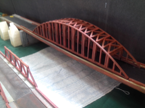 6mm Arnhem style bridge. Complete bridge