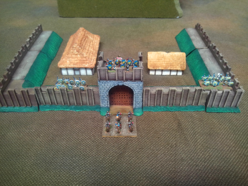 10mm Saxon Fort Pack