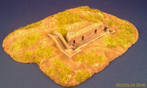 6mm WWII R622 infantry bunker