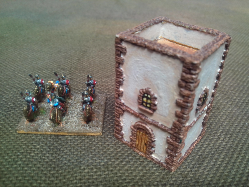 10mm Darkage/Saxon watch tower