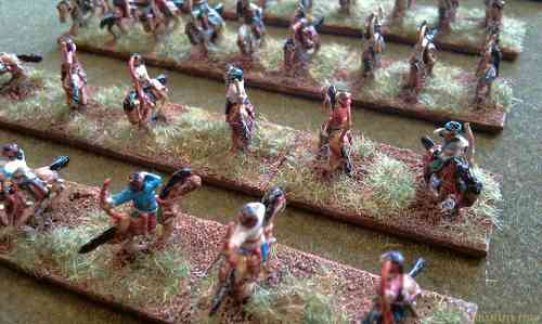 12x 10mm Sarmatian Skirmish Light Cavalry