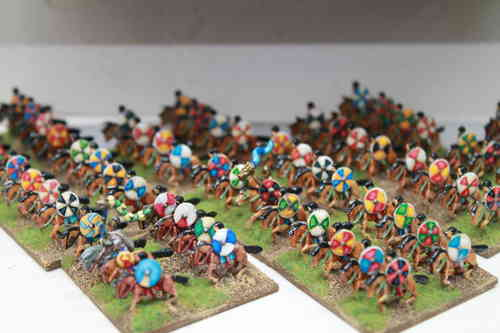 10mm Gothic cavalry with spear