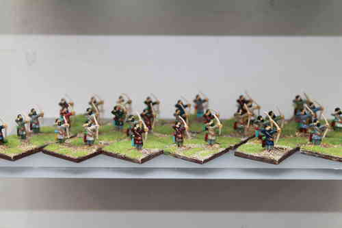 10mm Gothic infantry with bow