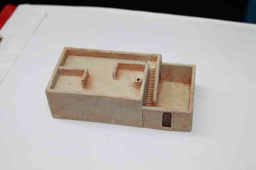 15mm basic two room middle eastern building with courtyard #2