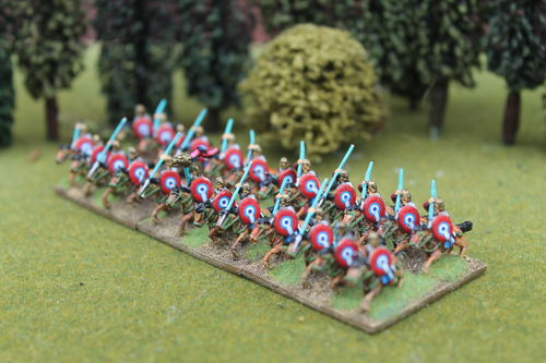 10mm Late Roman armored heavy cavalry throwing Javelin