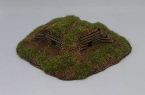 10mm wooden Dual MG bunker