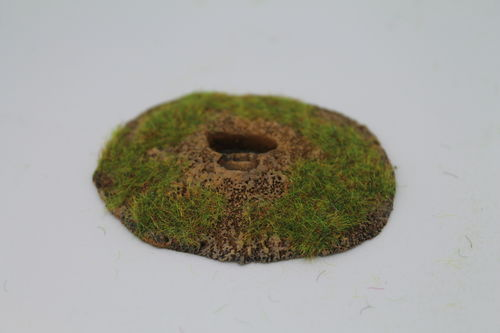 10mm WWII German entrenchments - 2 man MG position