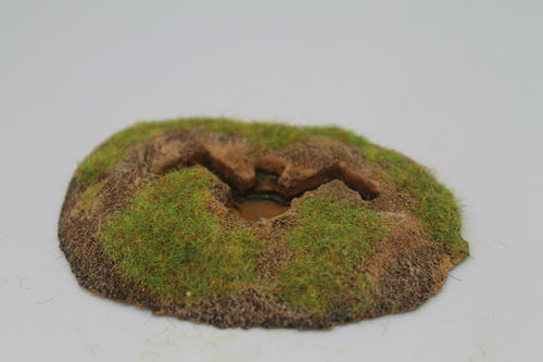 10mm WWII German entrenchments - 81mm mortar position