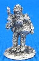 25/28mm Security Trooper with Assault Rifle 1 carrying Helmet