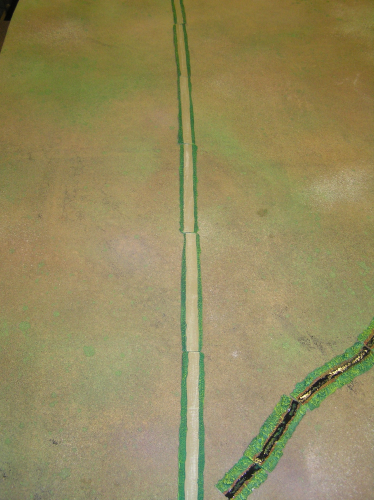 "1/2"" Wide Resin Roads"