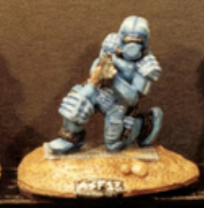 25/28mm figure of the Andromeda Federal Marines: Marine with a Mk II Auto-Laser rifle