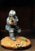 25/28mm figure of the Andromeda Federal Marines: Marine Petty Officer