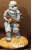 25/28mm figure of the Andromeda Federal Marines: Marine with laser