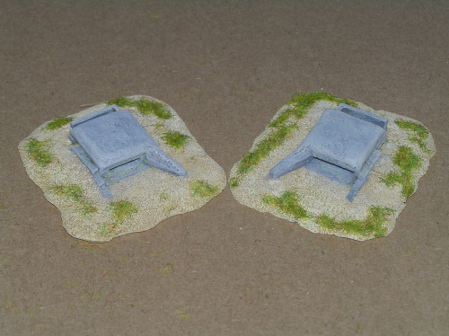 6mm WWII  Tobrouk H58C bunkers