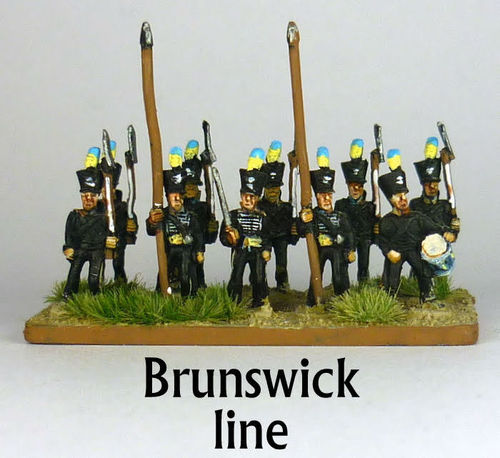 10mm Brunswick Napoleonics Line or Light infantry