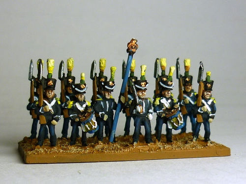 French Army Post 1812 Infantry - Line Fusiliers