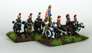 10mm French Army Post 1812 Cavalry- Carabiniers